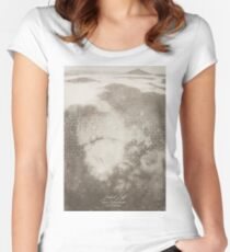 Misty Lab Women's Fitted Scoop T-Shirt