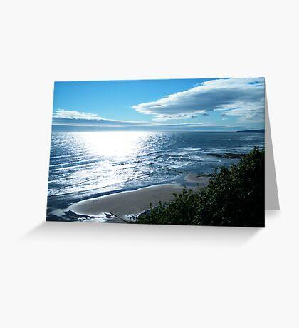Waters Edge Morning Greeting Card