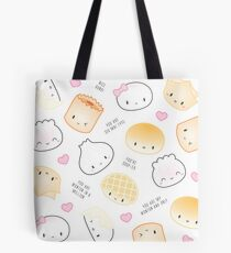 Cute Dimsum Puns Tote Bag