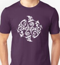 Zodiac Sign Pisces White Unisex T-Shirt