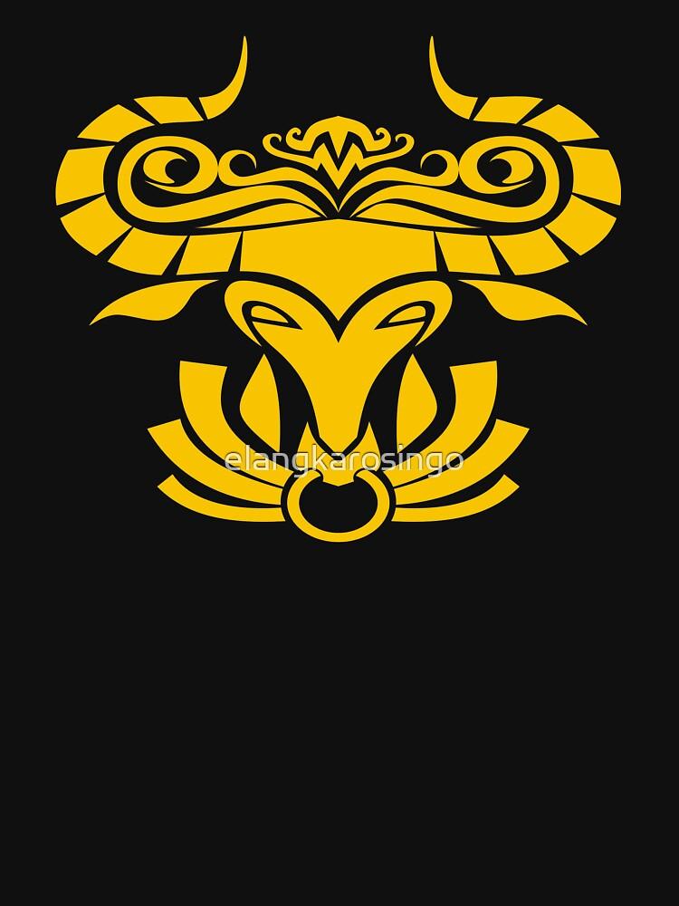 Zodiac Sign Taurus Gold by elangkarosingo