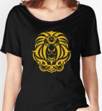 Zodiac Sign Leo Gold Women's Relaxed Fit T-Shirt