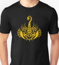 Zodiac Sign Scorpio Gold Unisex T-Shirt