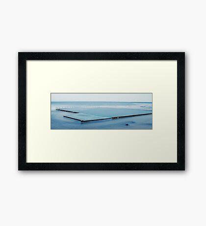 Wombarra Pool Framed Print