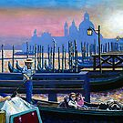 Evening in Venice by Richard Waldron