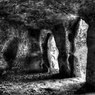 Hermitage Cave & Ghost  by Richard Jackson