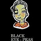 Black Eye - Peas   (1 x 2.5cm) by limerick