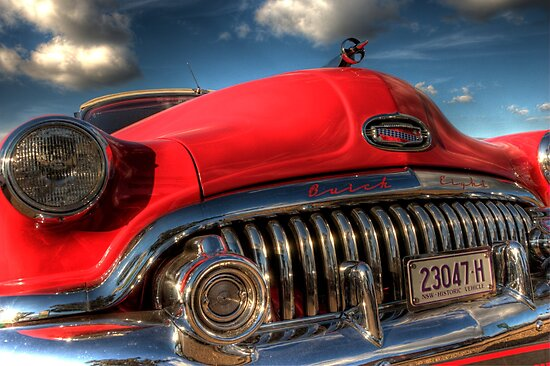 Red Buick by Leigh Monk