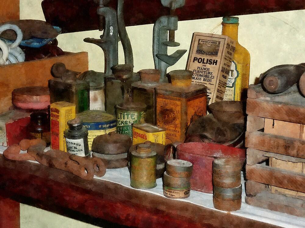 Varnish, Soap and Glue by Susan Savad