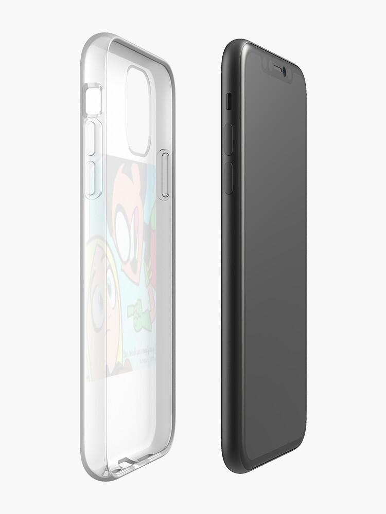 Teen Titans Go Terra iphone case