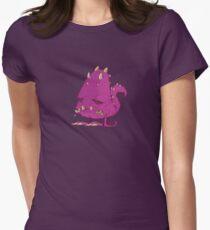 Monster-vector Women's Fitted T-Shirt