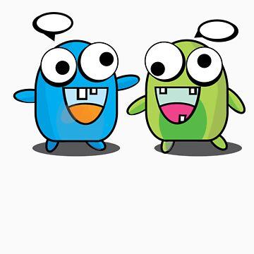 Noisy Twins by tetsuya
