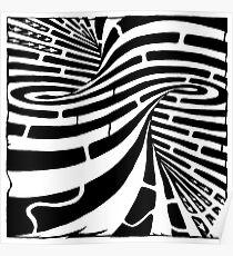Tornado maze Poster