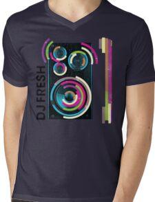DJ Fresh Mens V-Neck T-Shirt