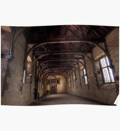 Indoor Riding School At Bolsover Castle Poster