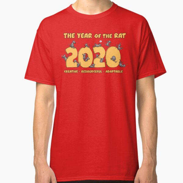 The Year of the Rat - 2020 Classic T-Shirt