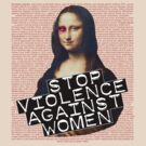 STOP VIOLENCE AGAINST WOMEN by Jaime Cornejo