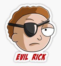 evil Morty Sticker