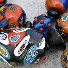 old glass beads by betty porteus