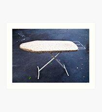 The Ironing Board Art Print