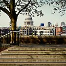 St. Paul's Across the Thames by Sherie LaPrade