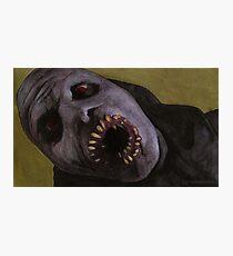 Listening to Fear - Queller Demon - BtVS Photographic Print