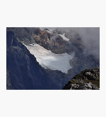 Mount Shuksan Glacier Photographic Print
