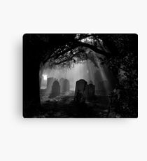 Grave Rays Canvas Print