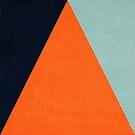 mod triangles - autumn  by beverlylefevre
