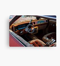 Ghetto Tiny Chain Steering Wheel Canvas Print
