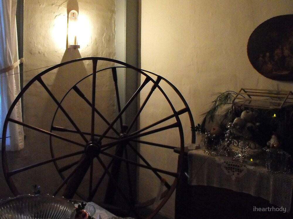 Spinning wheel by endomental Artistry