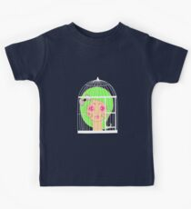 Girl in Cage 2 Kids Tee