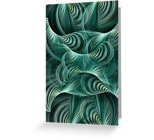 Sea Waves Greeting Card