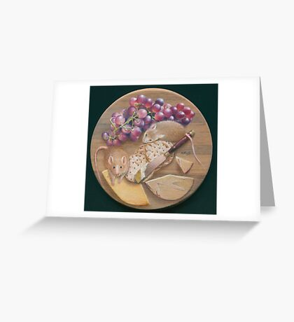 A Platter for Two Greeting Card