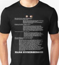 MARK ZUCKERBERG Unisex T-Shirt