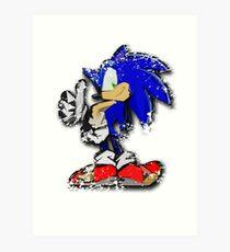 Sonic Art Print