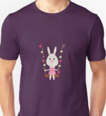 The Bunny in the Swing Unisex T-Shirt