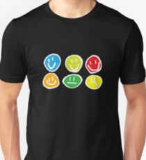if you're happy and you know it ... (white) Unisex T-Shirt