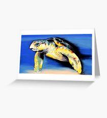 """Turtle"" Greeting Card"