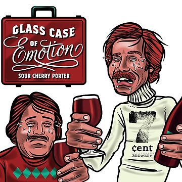 Glass Case of Emotion illustration by 7centBrewery