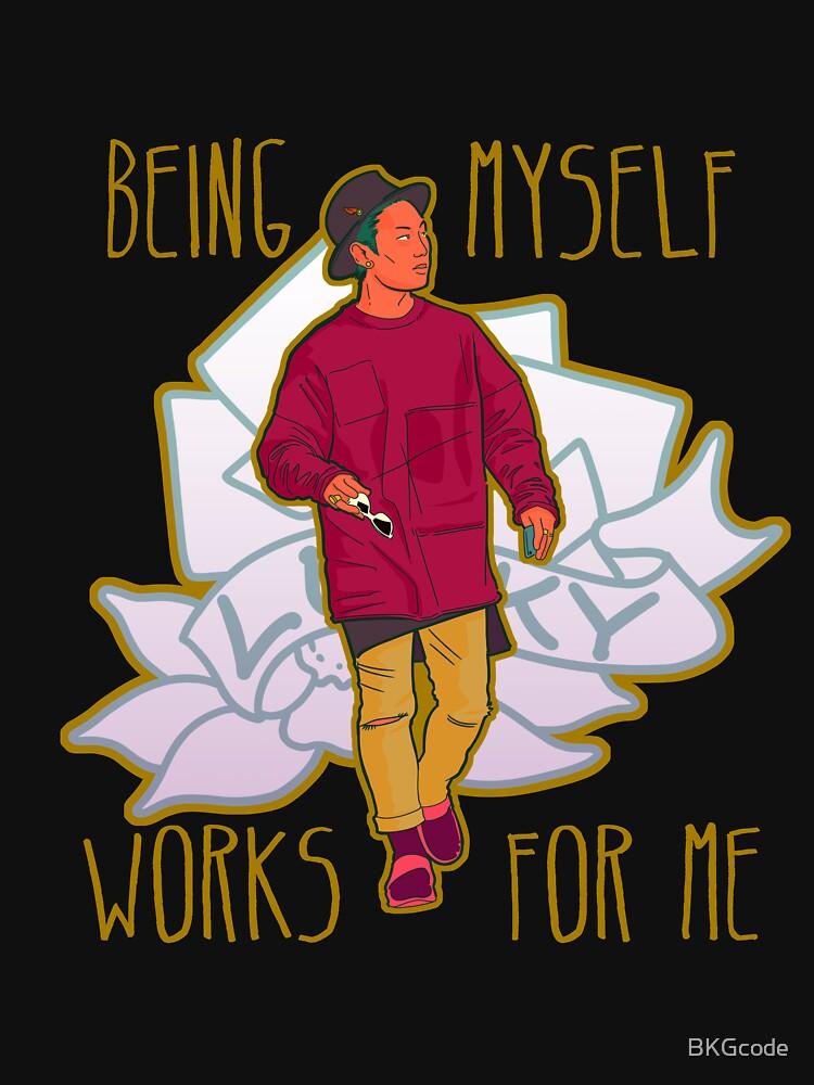 being myself de BKGcode