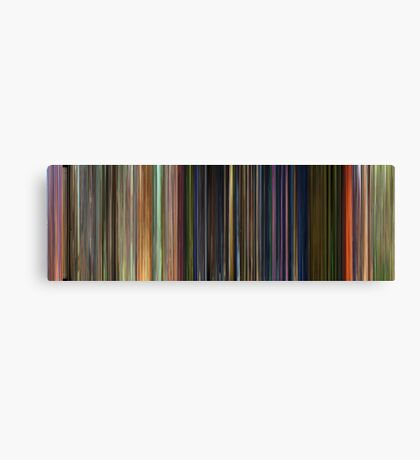 Moviebarcode: Toy Story 3 (2010) Canvas Print