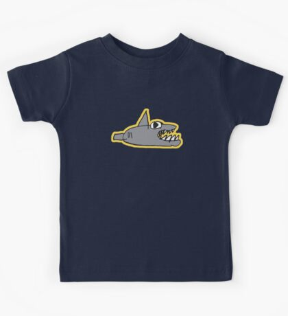 chomp! with outline Kids Clothes