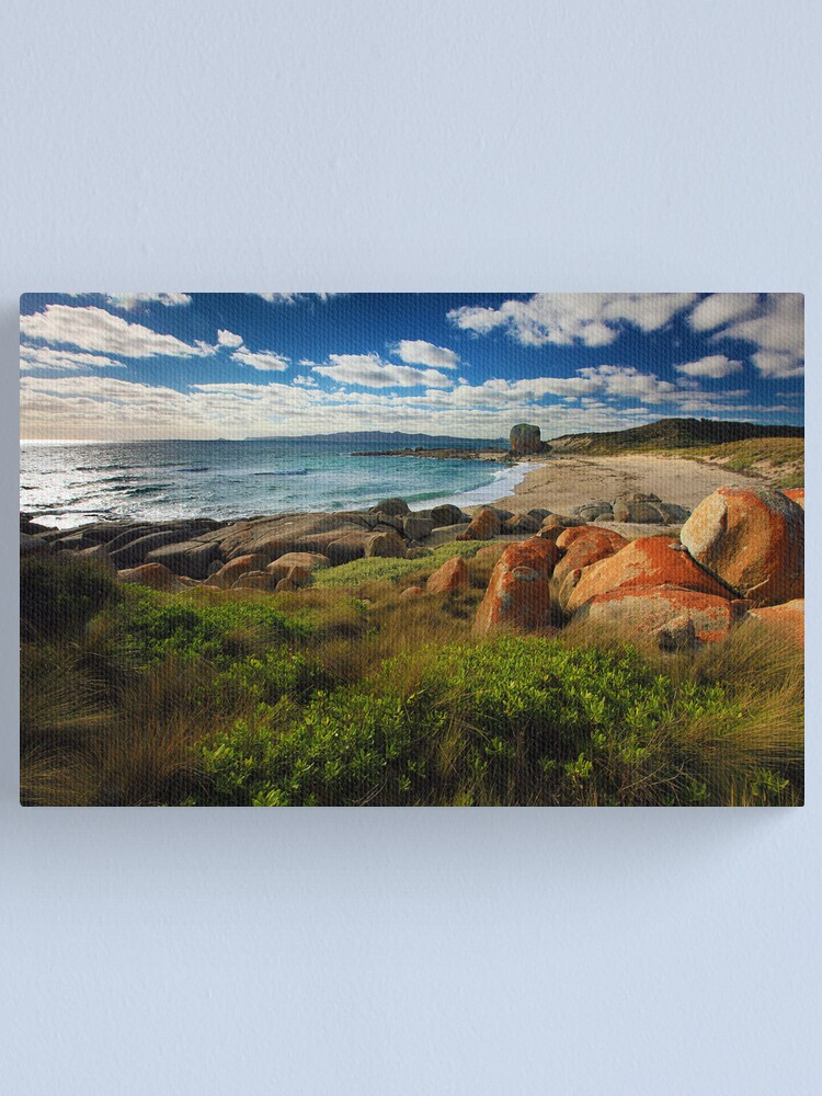 Alternate view of Evening Sun - Flinders Island, Tasmania Canvas Print