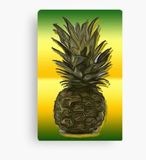 The Pineapple / Fruit Shop Canvas Print