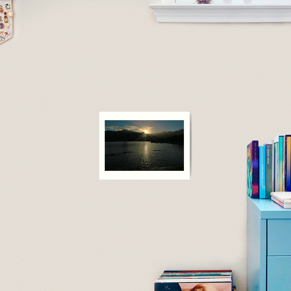 Sunrise - Flinders Island, Tasmania Art Print