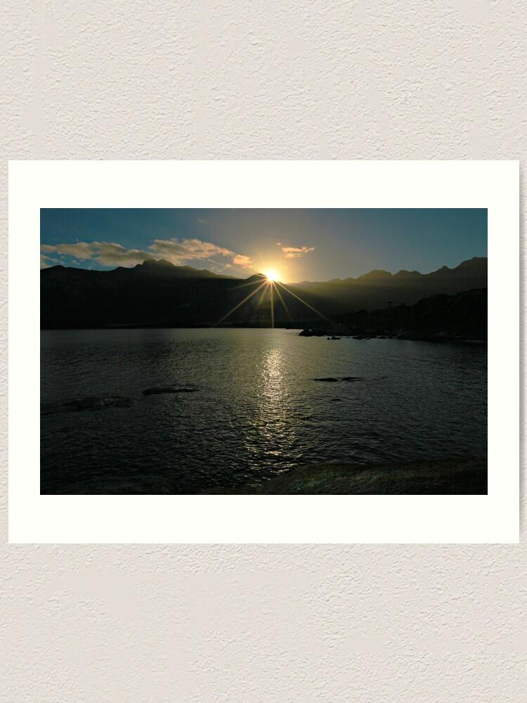 Alternate view of Sunrise - Flinders Island, Tasmania Art Print