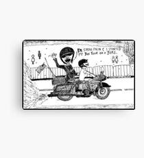 Sarah Palin Rollin' Thunder Review Canvas Print