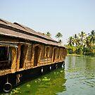 House Boat, Alleppey, Kerala by Dhruba Tamuli