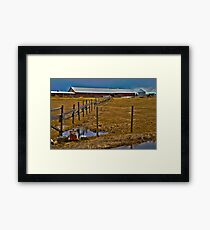The old farm Framed Print